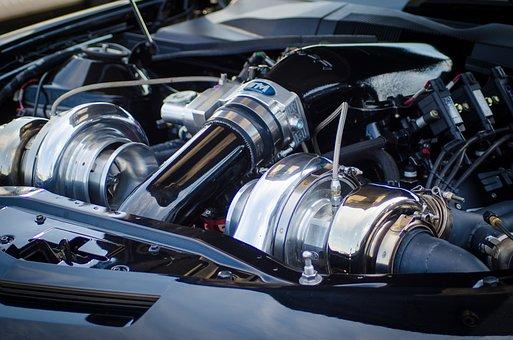Engine, Turbo, Motor, Machine, Power, Technology, Metal