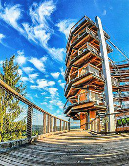 Observation Tower, Cloef, Saar Loop