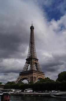 Paris, Eiffel Tower, Architecture, Landmark, French