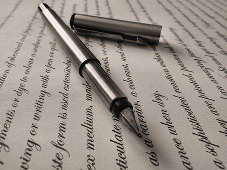 Pen, Fountain Pen, Writing, Fountain, Ink, Write, Paper