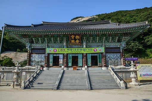 Bomunsa, Seokmodo, Section, Temple, Travel, Tourism