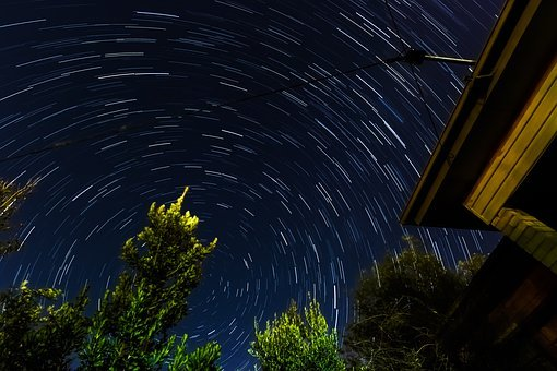 Startrails, Stars, Timelapse, Sky, Skies, Night