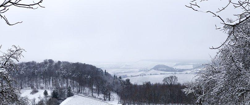 Winter, Landscape, Snow, Nature, Wintry, Sky, Snowy