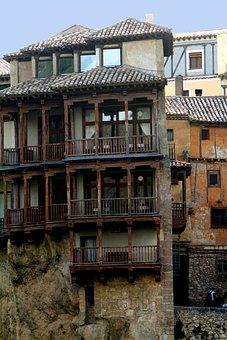 Cuenca Spain, Hanging Houses, Casas Colgadas