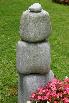 Stones, Contemplative, Contemplation, Rest, Symbol
