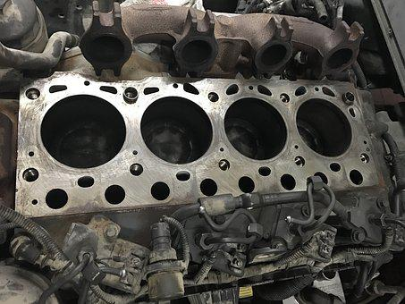 Truck Engine, 8-cylinder, Technology, Mercedes
