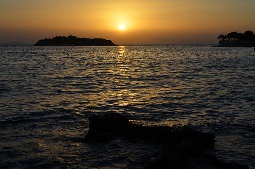 The Rocks, Ghosh, Landscape, Sunset