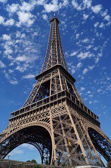Eiffel Tower, Sky, Sunny, Paris, France, Tower, Eiffel