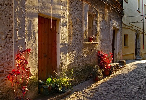 Old Town, Scalea, Old Houses, Village, Borgo, Country