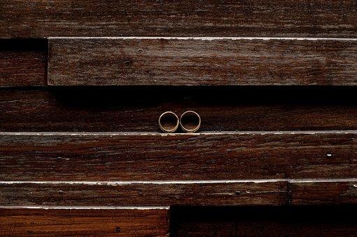 Ring, Wedding, Wedding Ring, Wood
