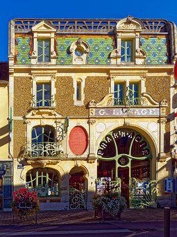 Art Nouveau, Home, Old, Old Building, Historically