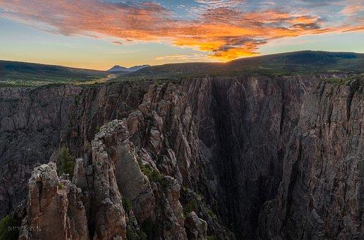 Black, Canyon, Colorado
