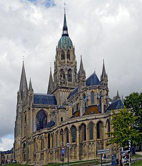 Cathedral, Notre Dame Of Bayeux, Cultural Monument