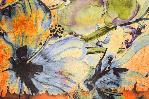 Flower, Texture, Pattern, Fabric, Natural, Macro
