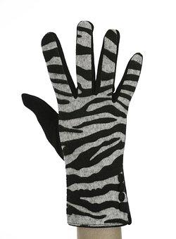 Zebra, Black, Glove, El, Finger, Msn Letters, Concepts