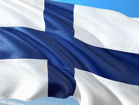 International, Flag, Finland