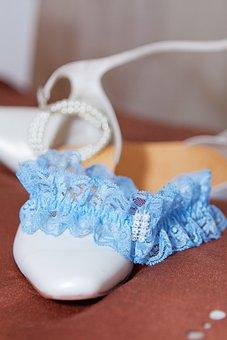 Bride, Garter Belt, Shoe, Wedding, Ladies Stocking