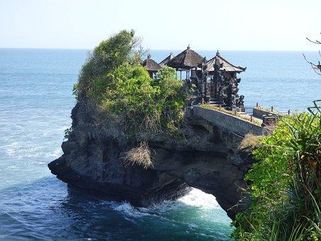 Bali, Temple, Hindu, Indonesia, Tanah Lot