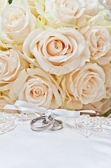 Rings, Wedding, Marry, Love, Together, Jewellery