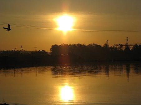 Sunrise, Morning, Sky, Dawn, Early Morning, Landscape