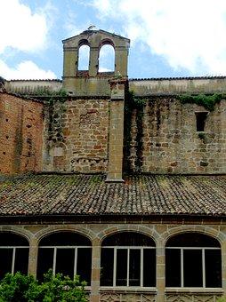 Plasencia Spain, Parador, Hotel, Monastery, Storks