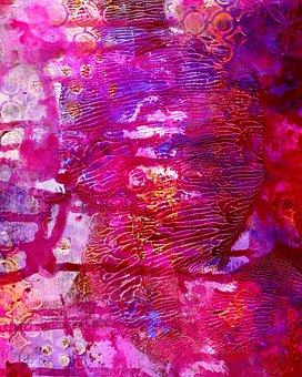 Mixed Media, Art, Painting, Artwork, Grunge, Creative