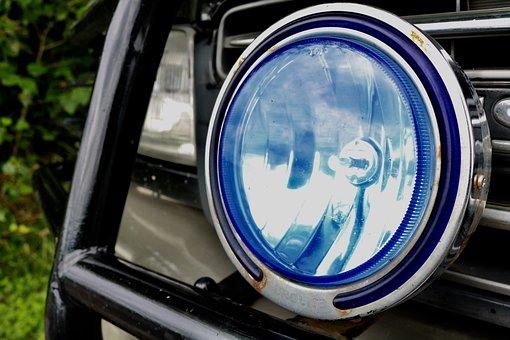 Car Headlights, Lamp, Spotlight, Auto, Vehicle