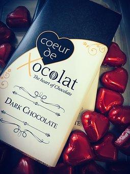 Chocolate, Bar, Dessert, Dark, Cocoa, Cacao, Food