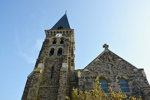 Church, Face, Bell Tower, Pendulum, Religious Monuments