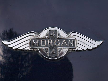 Car Badge, Metal, Emblem, Morgan