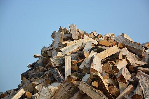 Logs Wood, Cut Wood, Wood Pile, Firewood, Heating