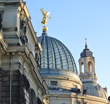 Dresden, Old Town, Saxony, Architecture
