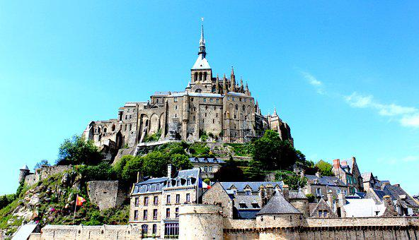 Mont Saint-michel, France, Michel, Mont, Normandy