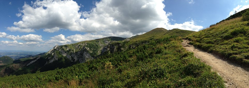 Mountains, Tatry, Trail, Tourism, The High Tatras