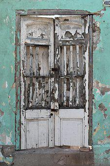 Door, Gate Rustica, Old, Passepartout, Rustic, Wood