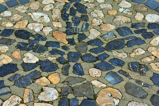 Paving Stones, Patch, Road, Stones, Pattern, Structure