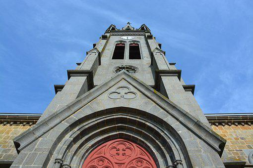Church Bell Tower, Photo Face, Storefront