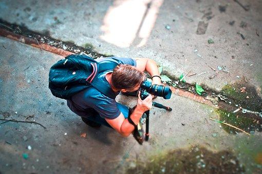 Photographer, Photograph, Photography, Camera, Lens