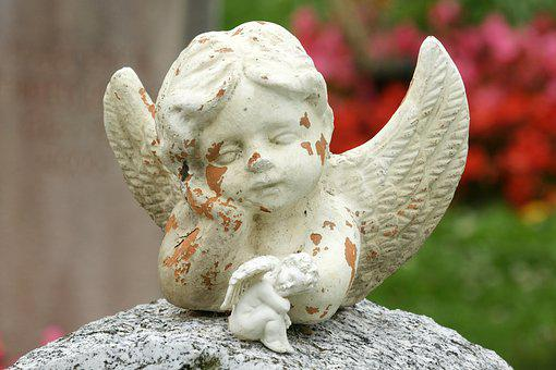 Angel, Sculpture, Harmony, Art, Cemetery, Faith, Hope