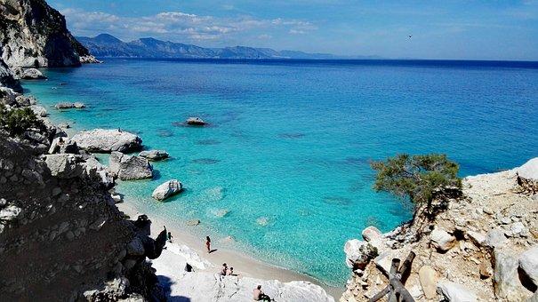 Cala Goloritze, Sea, Sardinia, Italy, Cala Goloritzè