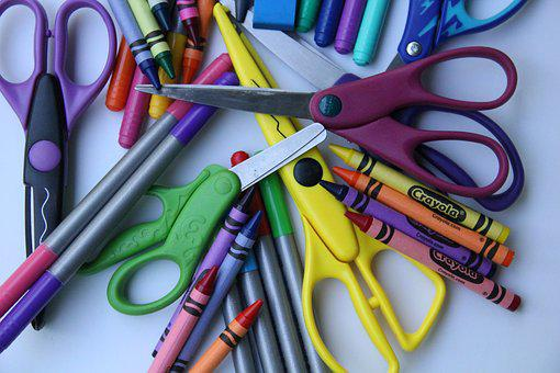 School Supplies, Back To School, Arts And Crafts