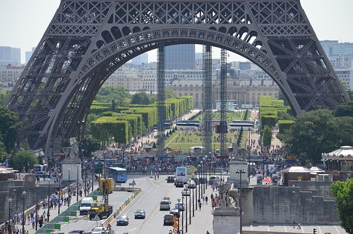 Eiffel Tower, Paris, Steel Structure, Attraction