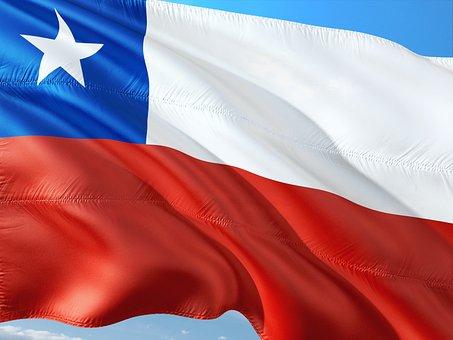 International, Flag, Chile