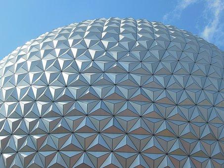 Disney, Epcot, Texture, Florida, Parks, Orlando