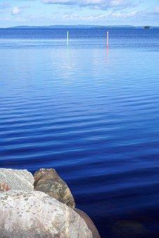 Finland, Lake, Waves