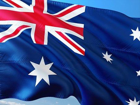 International, Flag, Australia