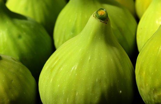 Figs, Green Figs, Green, Real Coward, Fruit, Food, Eat