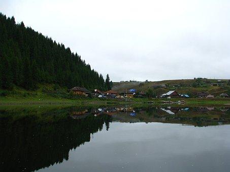 The Village Of Kyn, The Chusovaya River, Perm Krai