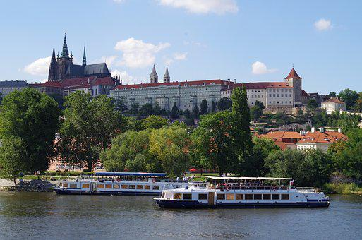 Prague, City, Old Town, Historical, Prague Castle