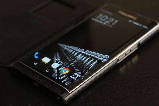 Blackberry, Priv, Mobile Phone, Qwerty, Curved Screen